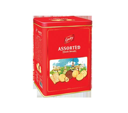 Bánh Lucky Assorted thùng 500 g 03